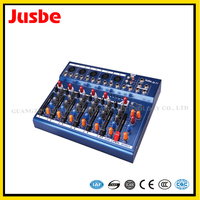 battery powered audio mixer