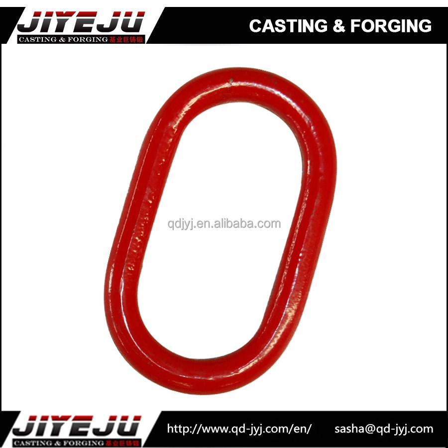 1 1/2 size 21.7 working load forged lifting type oblong ring