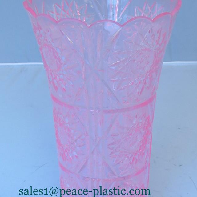 2014 High Quality Plastic Flower Pot,crystal pot,flower pot for sale