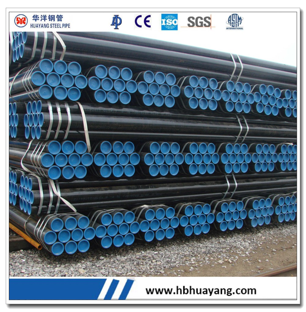 carbon steel seamless pipe cold drawn ASTM A333 GR.6