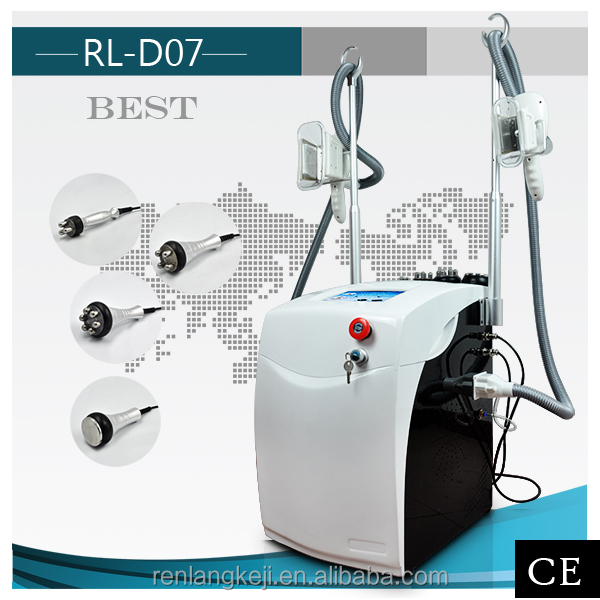 2016 Alibaba best selling Criolipolisis 40K RF Bipolar fat freezing liposuction machine