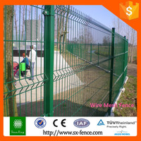 2015 Alibaba China Powder painting Welded Wire Mesh Fence/Fence Panel/Post and accessary