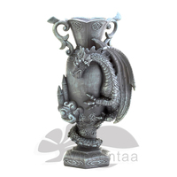 High quality dragon statue flower vase