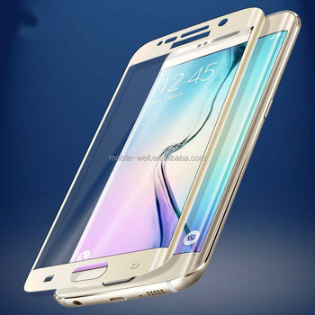 Perfect Fit 3D Full Covered For Samsung Galaxy S7 Edge Tempered Glass Screen Protector