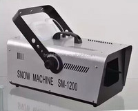 High quality stage light effect equipment 1200w snow machine for dj