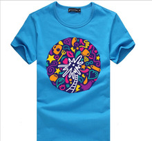 Top Quality Round Neck Customize Cotton Printing T Shirt Short Sleeve,Tshirt Printing