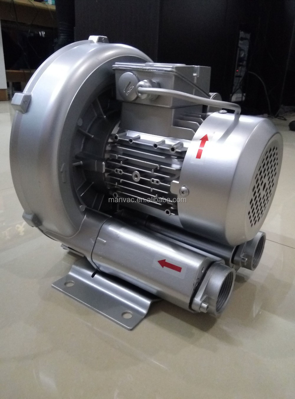China factory price 0.37kw LD 004 H21 <strong>R12</strong> single phase industrial impeller air blower centrifugal fan
