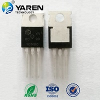 10N80/mosfet transistor/n-channel mosfet/electronic semiconductor trench mosfet