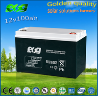rechargeable 12V100AH UPS battery for pc control system used ups batteries 12v100ah
