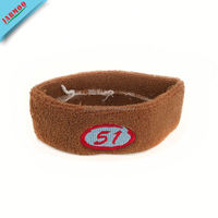 Warm Custom Embroider Sweatband For Sports