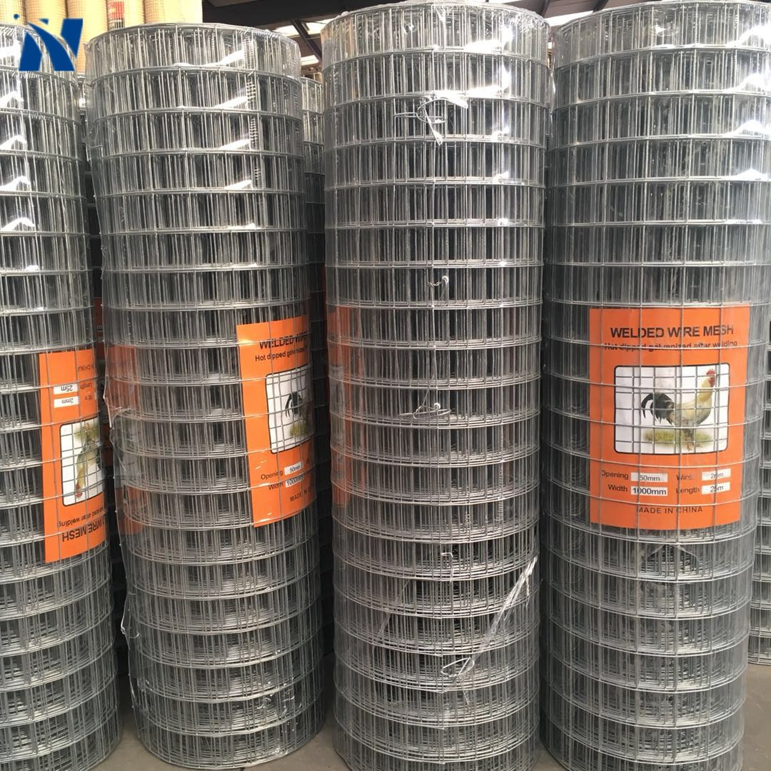 Wholesale 2x2 Galvanized Welded Wire Mesh Fence Panels