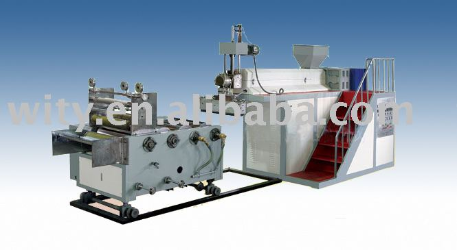 Extruding & Film Casting Machine (Stretch Film Making Machine, Stretch Film Forming Machine)