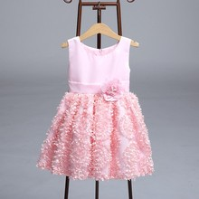 Hot Selling New Style Kids Net Frock Designs Baby Girl Summer Dress With Great Price LY9363