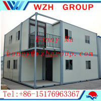 cheap prefab container house with differents house plan