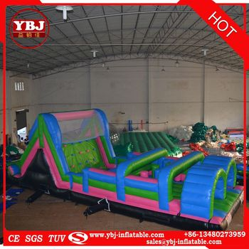 outdoor gaint sport game inflatable obstacle equimpent for TV show
