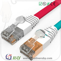 Top Speed RJ45 Stranded Wire Pure Copper Ethernet Patch Cord Cable for Servers and Switches