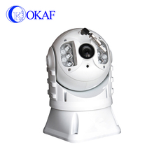 waterproof vehicle mounted dome ptz ip camera surveillance for police