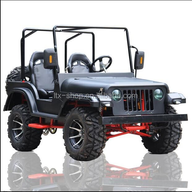 200cc ATV two seats mini jeep 4 wheel sightseeing vehicle for sale