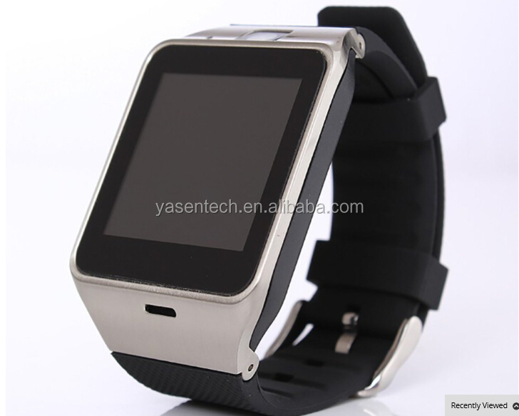 GV18 Smart Watch Android Bluetooth Sport Pedometer Camera Fitness Bracelet Touch Screen Smartwatch Mobile Phone