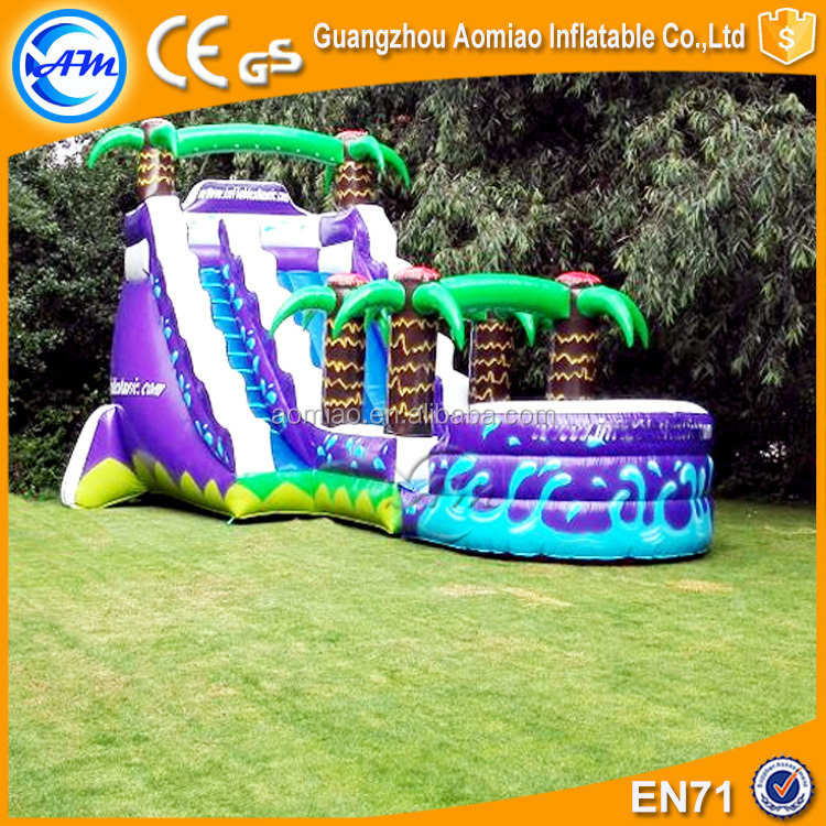 New style giant inflatable water slide for adult inflatable slip n slide
