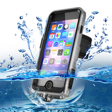 2017 hot new products PC+TPE+Silicone outdoor sport waterproof phone case for iPhone 7 7 Plus