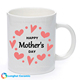 Custom design printed happy mother's day gift ceramic coffee mug for mom