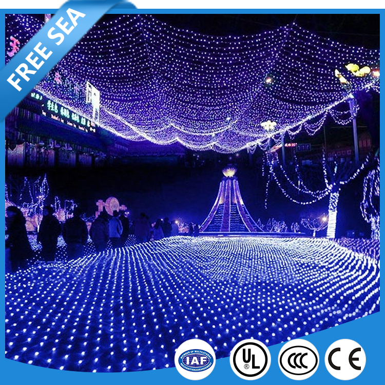 Diwali Decorative LED Net Lights With Waterproof Protection