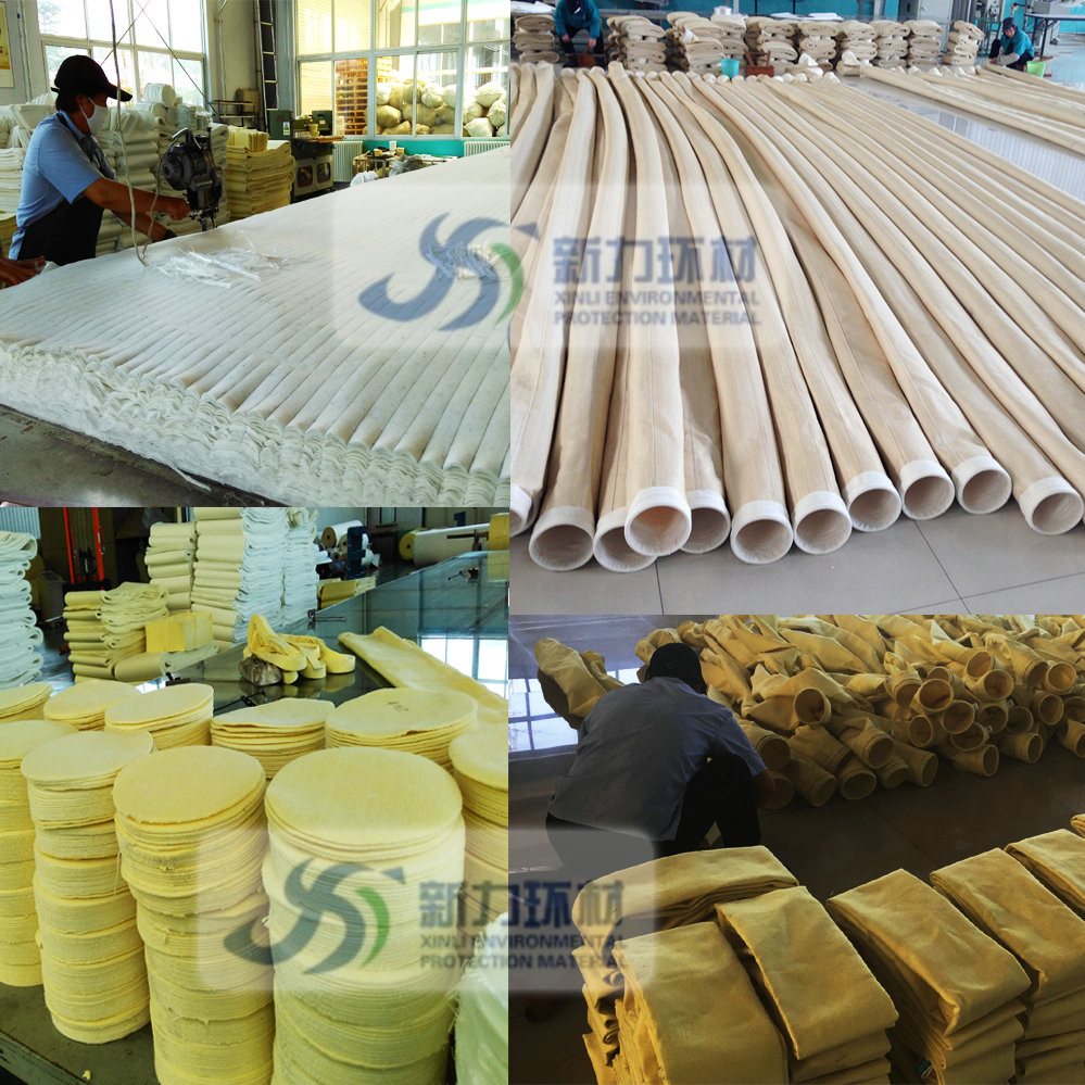 Polyester /pp /PTFE /aramid /P84 /Fiberglass /PPS /Acrylic filters air for dust collecter bag