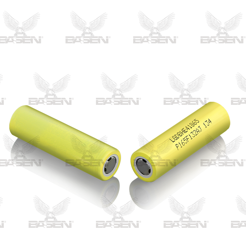 3.7v 18650 battery pack LG HE4 YELLOW 18650 lithium ion rechargeable batteries 35A 18650 liion battery