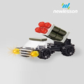 emission fighting vehicle building blocks educational toys kids for wholesale