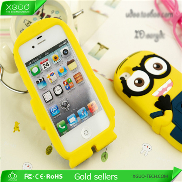 100% environment friendly silicon mobile phones covers for iPhone 5 5S 5G