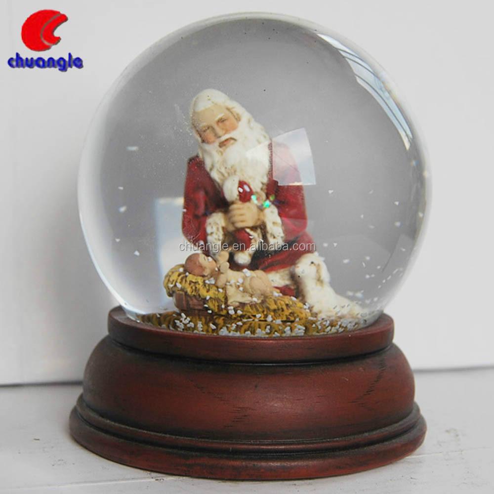 Large christmas snow globe outdoor christmas snow globe for Outdoor christmas globes