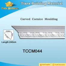 TIARA Building Material Plastic Cornice for Ceiling and Wall