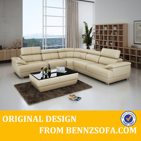 Cheap white sectional otobi furniture in bangladesh