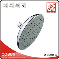 CSMSH1010 High Quality Chrome Plated Top Spray shower Head Shower Set