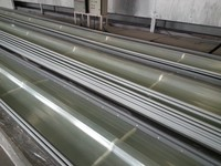 industrial workshop transparent sinusoidal roofing sheet FRP corrugated sheet
