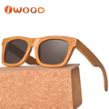 100% Inspection No MOQ Best Bamboo Sunglasses Polarized