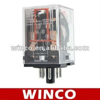 General Purpose Miniature Power Relay MK2P 24VAC