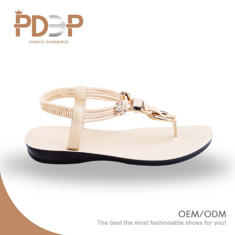 Any color available PU material ladies footwear with beautiful designs
