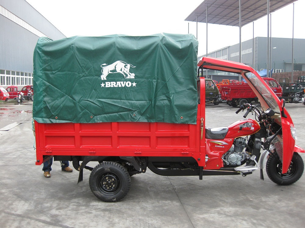 three wheel scooter 150cc rain cover taxi passenger tricycle