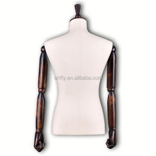 half body male mannequins fashions display dummy