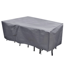 uv resistant and waterproof patio rectangular outdoor furniture set cover