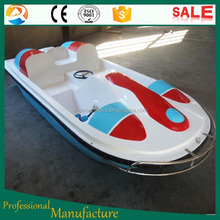 China Top Kiddie Mechanical Outdoor amusement water park rides attractions water bike pedal boats for sale
