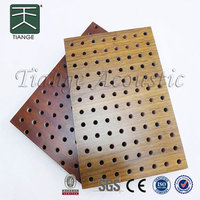 Mdf interior wall acoustic panel waterproof soundproof material