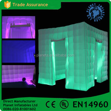 Custom Made Inflatable Wedding 3D Led Photo Booth Enclosure Frame