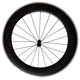 23mm wide clincher 700c road bike carbon alloy wheels 80mm