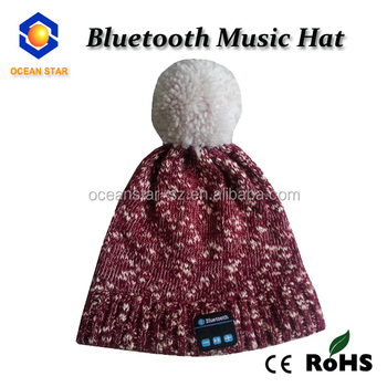 New Wireless Selfie phone beanie,bluetooth beanie,bluetooth cap