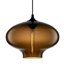 New high quality home decoration modern glass pendant lighting