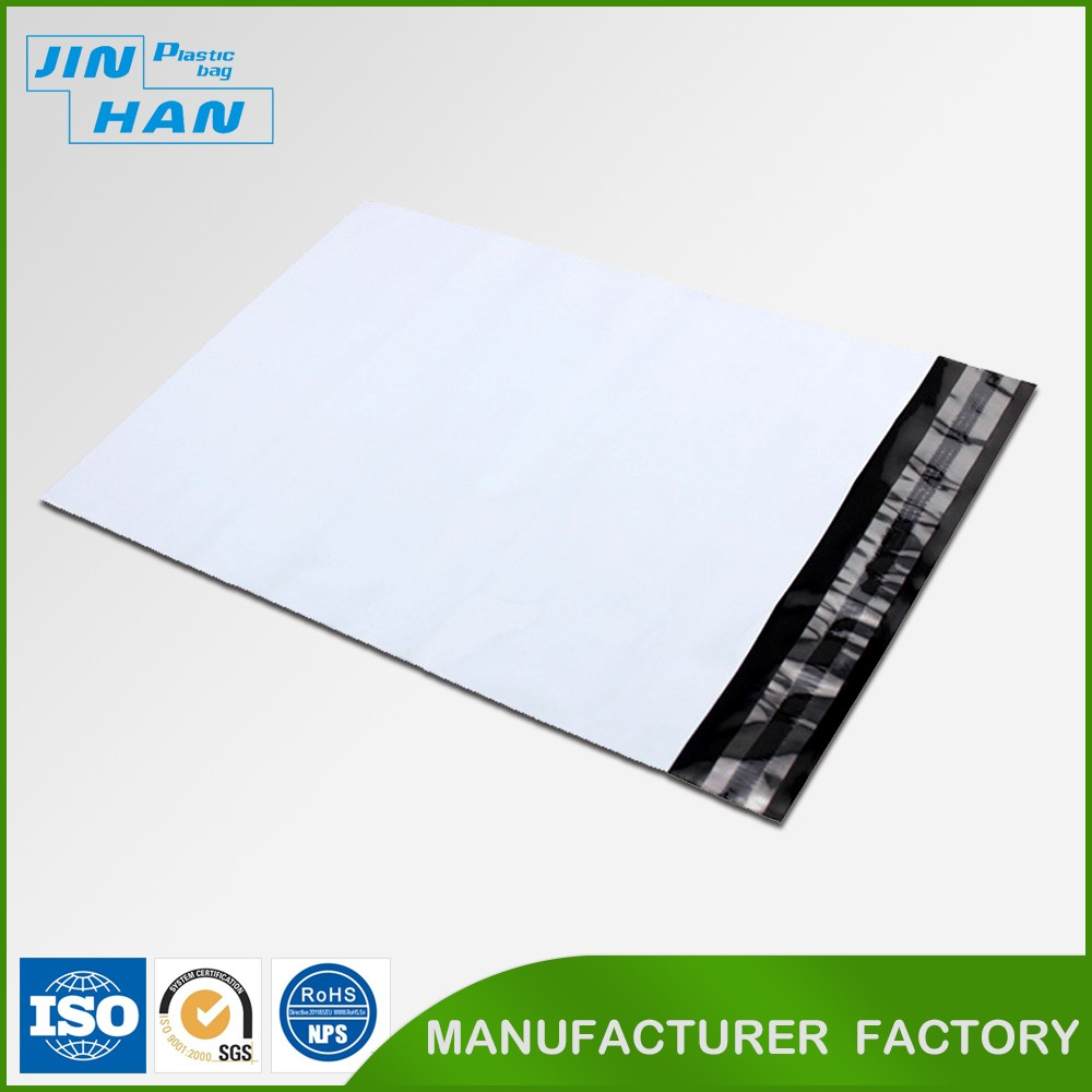 China Manufacture White Plastic Envelope with Seal
