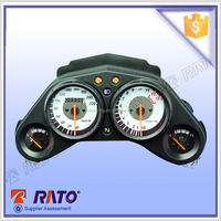 Motorcycle digital meter with fuel indicator, light led